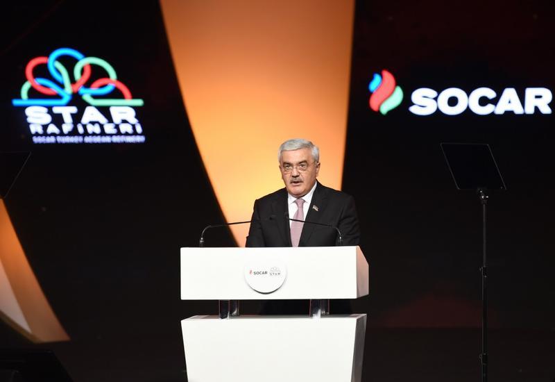 Ровнаг Абдуллаев: НПЗ Star внесет весомый вклад в развитие экономик Азербайджана и Турции