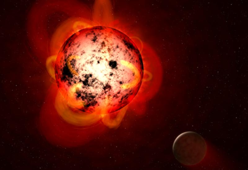 """""""Хаббл"""" зафиксировал супервспышку на соседней звезде"""
