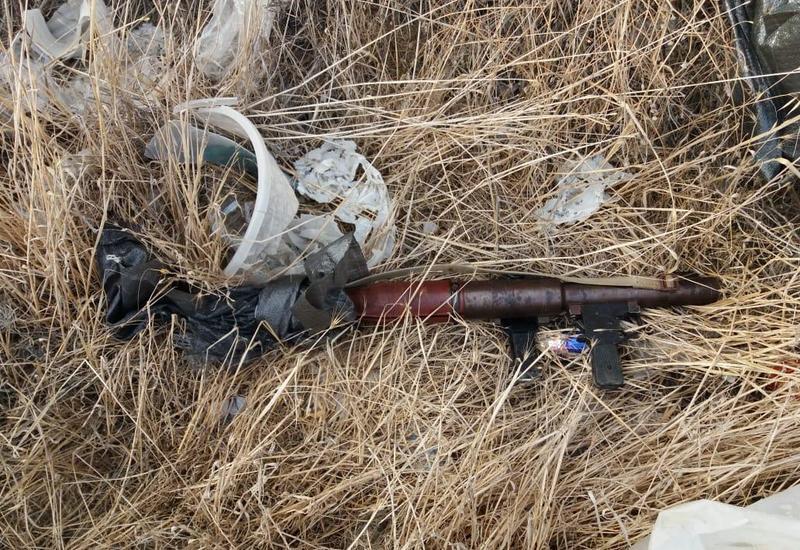 """В Баку обнаружен пригодный к использованию гранатомет <span class=""""color_red"""">- ФОТО</span>"""