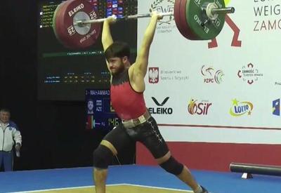 Азербайджанский тяжелоатлет стал чемпионом Европы