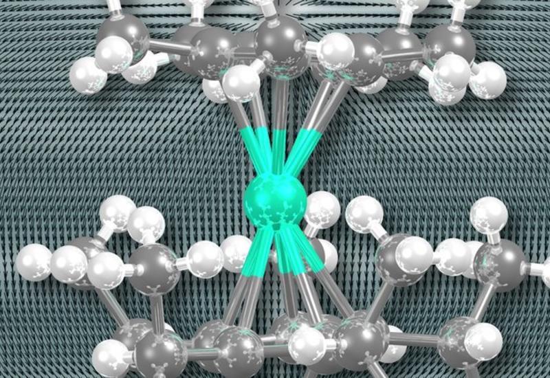 Создан первый в мире магнит, состоящий из одной молекулы