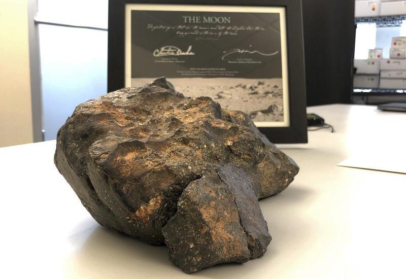 Редкий лунный метеорит продан за огромную сумму на аукционе в США