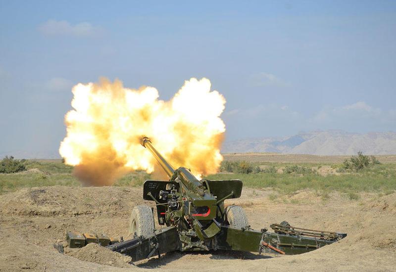 """Азербайджанская армия проводит учения с боевыми стрельбами <span class=""""color_red"""">- ФОТО</span>"""