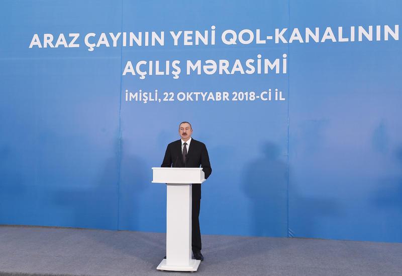 Президент Ильхам Алиев: Азербайджан может успешно реализовать и реализовывает любой инфраструктурный проект