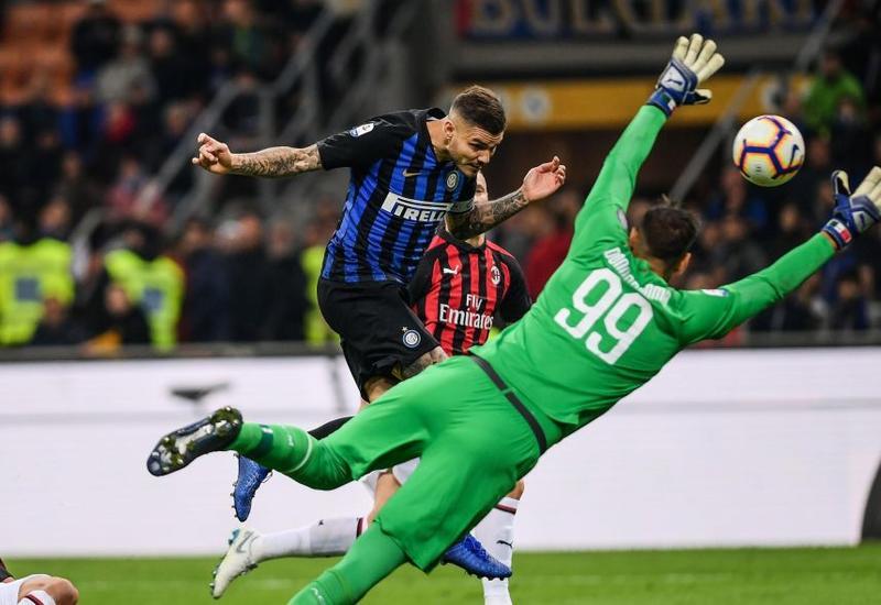 «Интер» вырвал победу в дерби с «Миланом»