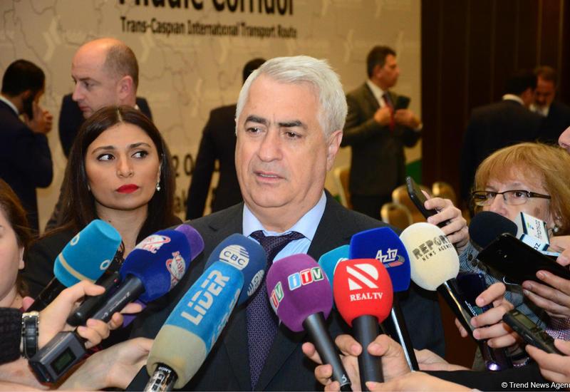 Джавид Гурбанов: Еще две страны подключились к Транскаспийскому международному транспортному маршруту