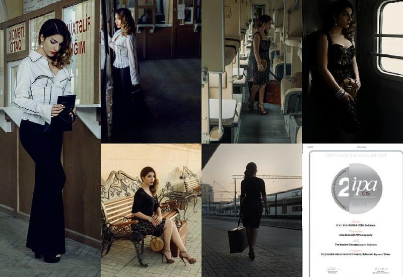 Азербайджанский fashion-фотограф вошла в тройку победителей международного конкурса