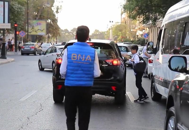 В Баку в ходе рейда оштрафован ряд водителей