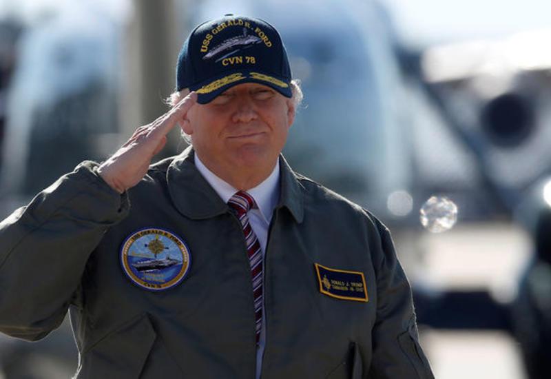 Трамп рассказал, сколько войск отправит на границу с Мексикой