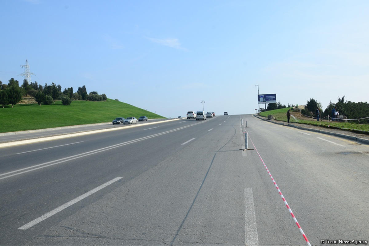 В ИВ района сообщили о ситуации на Зыхском шоссе в Баку после оползня