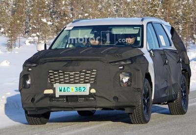 "Hyundai тестируют новый SUV <span class=""color_red"">- ФОТО</span>"