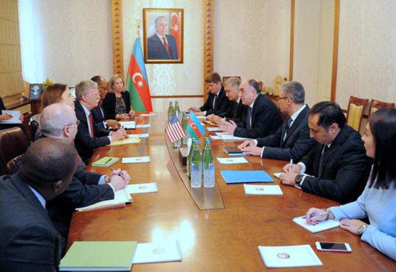 Джон Болтон: Отношения США с Азербайджаном имеют стратегическое значение