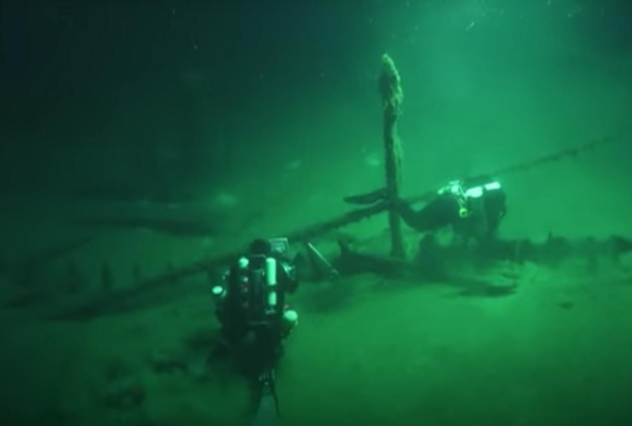 Надне Черного моря отыскали самый старый затонувший корабль