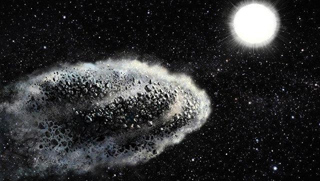 Ученые открыли два странных пылевых объекта около Земли