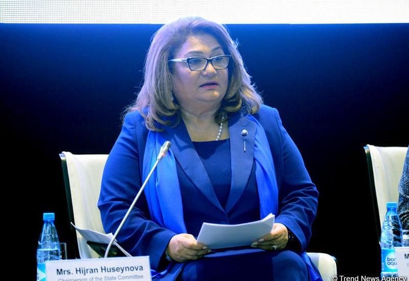 Хиджран Гусейнова: В Азербайджане созданы широкие возможности для защиты прав женщин во всех сферах