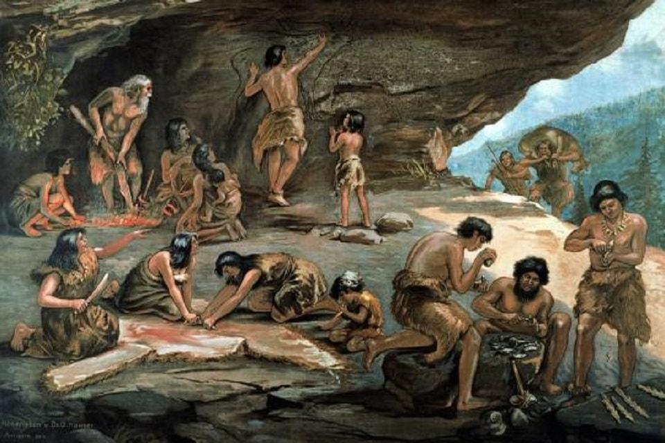 Картинки первобытное племя