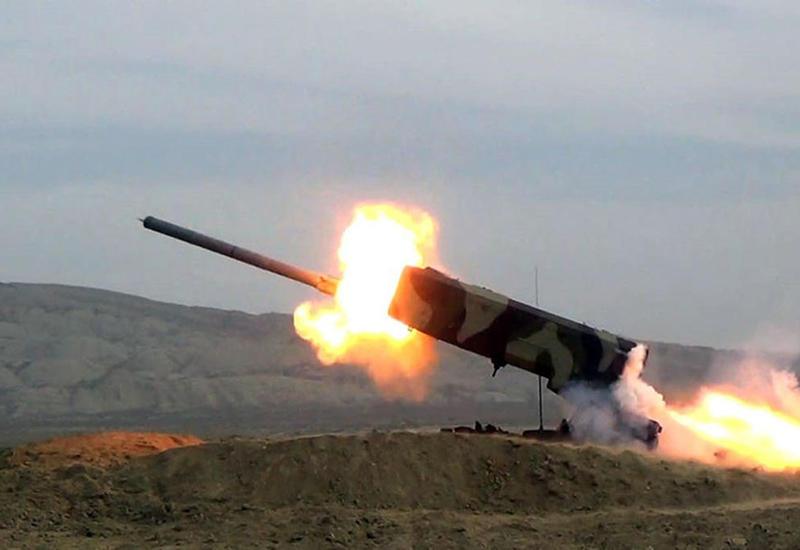 Армения обстреливает из ракет территории Нафталана и Тертера