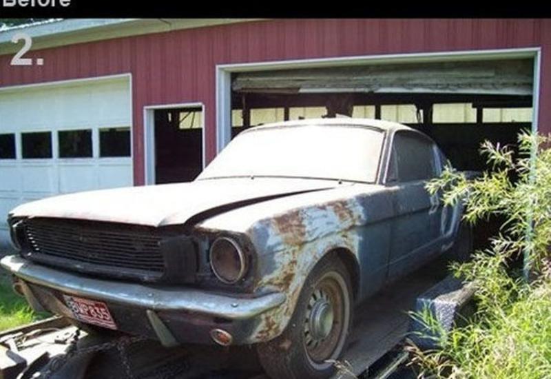 11 автомобилей до и после реставрации
