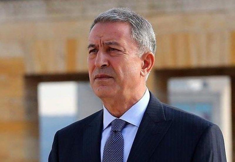 Hulusi Akar: Türkiyədə 83 milyonluq xalqımızın nəbzi Azərbaycan ilə döyünür