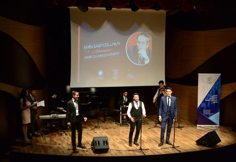 В Центре мугама прошел прекрасный концерт, посвященный творчеству Эмина Сабитоглы