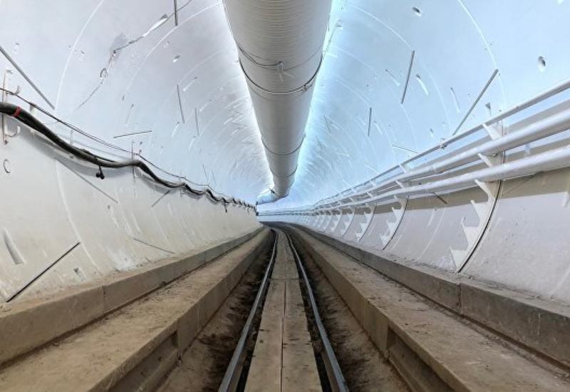 Маск опубликовал видео из скоростного туннеля под Лос-Анджелесом