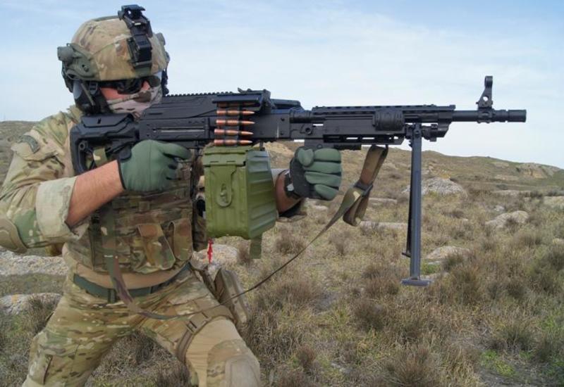 Азербайджан запустил производство собственного штурмового пулемета