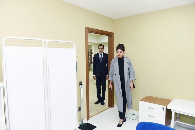 Первый вице-президент Мехрибан Алиева и вице-президент Фонда Гейдара Алиева Лейла Алиева приняли участие в открытии центра отдыха и здоровья «Джыртдан» - ФОТО