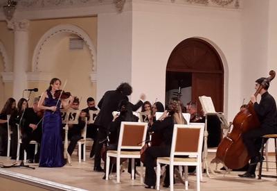 В Баку состоялся концерт камерного оркестра, посвященный Дню Государственного флага