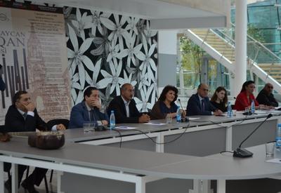 """В Центре мугама прошла научная конференция, посвященная азербайджанскому органному искусству <span class=""""color_red"""">- ФОТО</span>"""