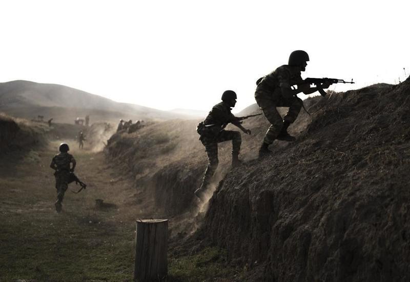 Азербайджанская армия взяла под контроль новые высоты на границе с Арменией