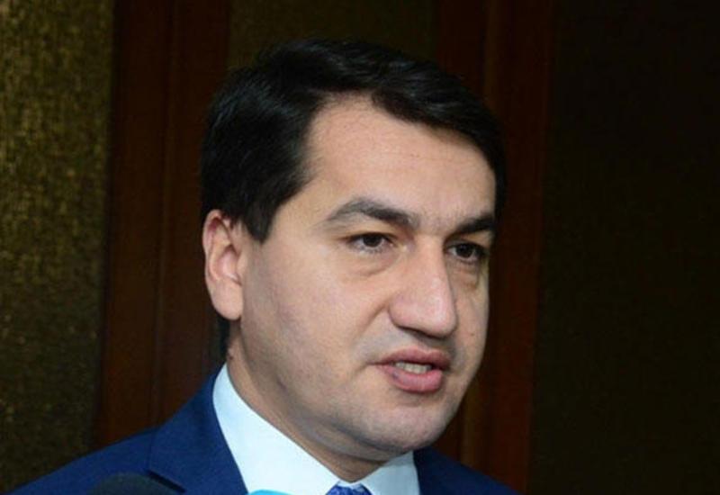 Хикмет Гаджиев: Армения находится в изоляции и загнана в угол