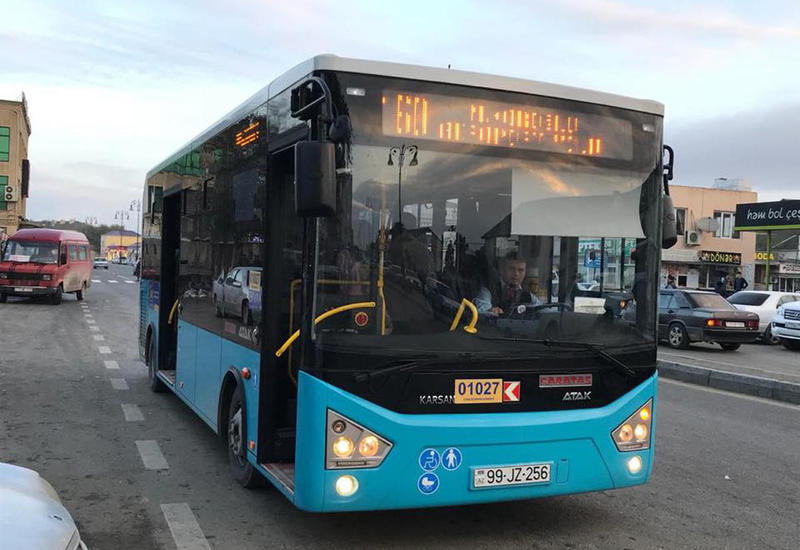 "В Баку столкнулись два пассажирских автобуса <span class=""color_red"">- ФОТО</span>"