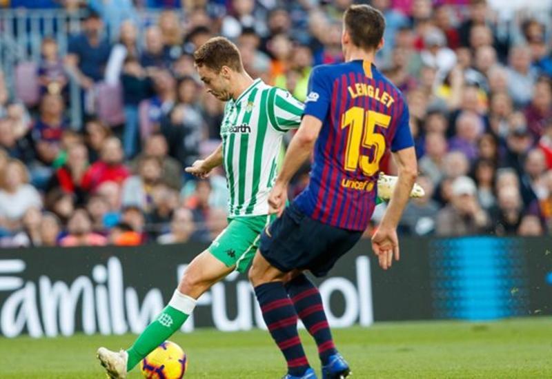 """«Барселона» на своем поле сенсационно проиграла «Бетису» <span class=""""color_red"""">- ВИДЕО</span>"""