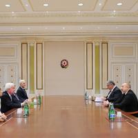 """Президент Ильхам Алиев: Проведенные в Азербайджане важные международные спортивные соревнования демонстрируют политику и возможности сотрудничества страны в этой сфере <span class=""""color_red"""">- ФОТО</span>"""
