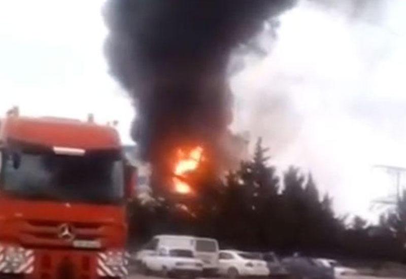 "В Баку произошел пожар на электростанции <span class=""color_red"">- ОБНОВЛЕНО - ФОТО</span>"