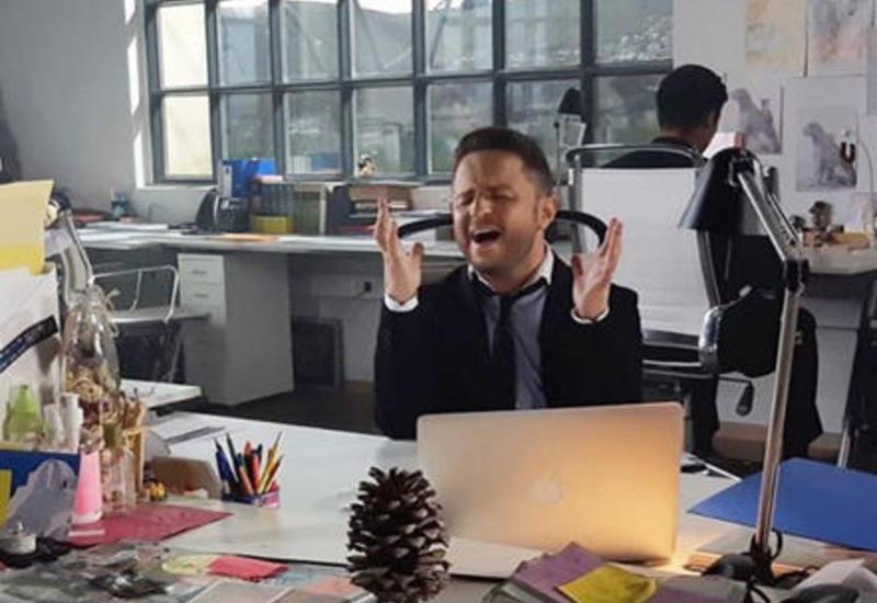 "Брендон Стоун снимает новый клип в Баку <span class=""color_red"">- ВИДЕО</span>"