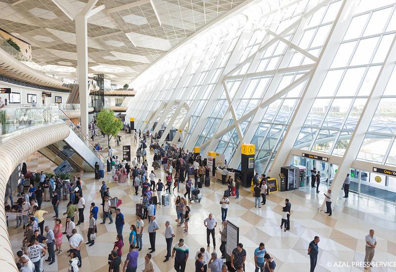 За десять месяцев 2018 года Международный аэропорт Гейдар Алиев обслужил 3,8 миллиона пассажиров