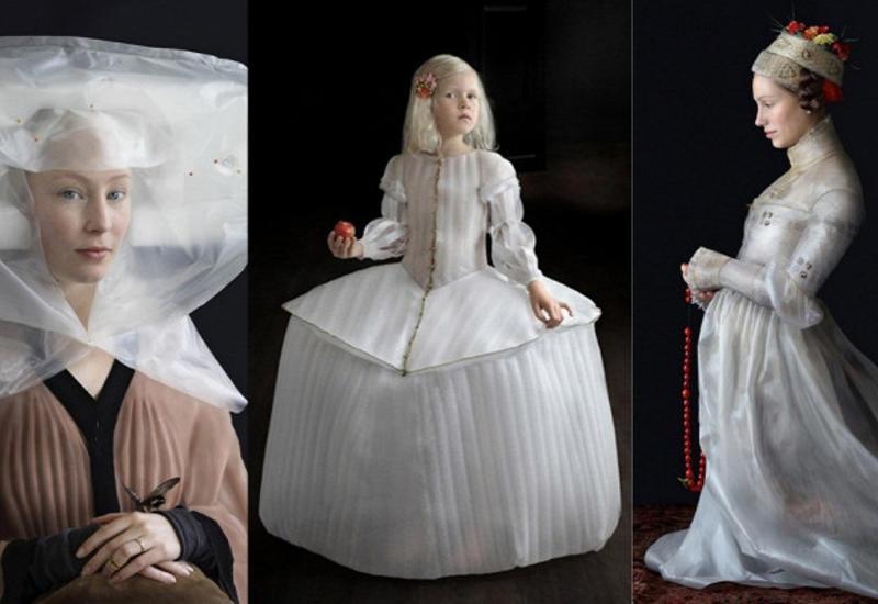 """Встиле эпохи Возрождения: дизайнер создает костюмы измусора <span class=""""color_red"""">- ФОТО</span>"""