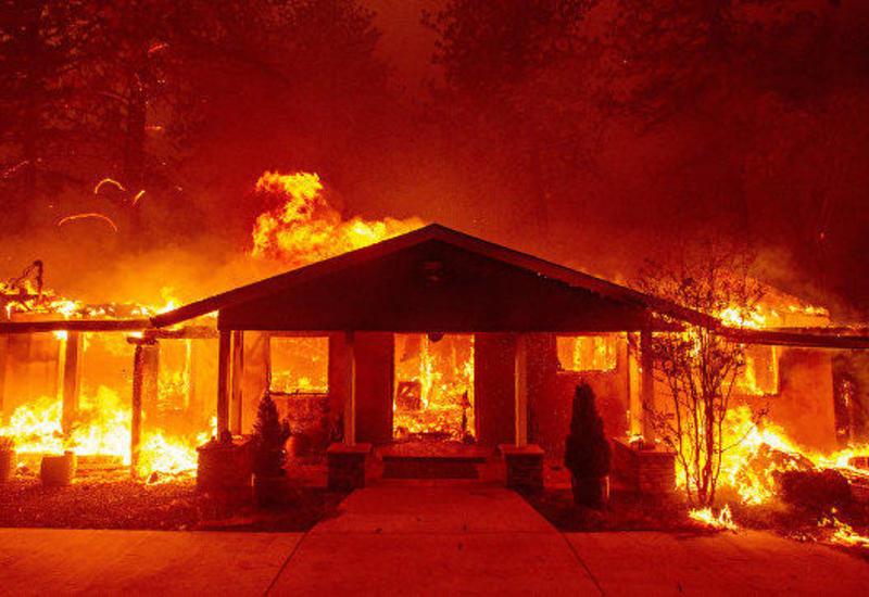Трамп заявил, что США никогда не сталкивались с пожарами как в Калифорнии