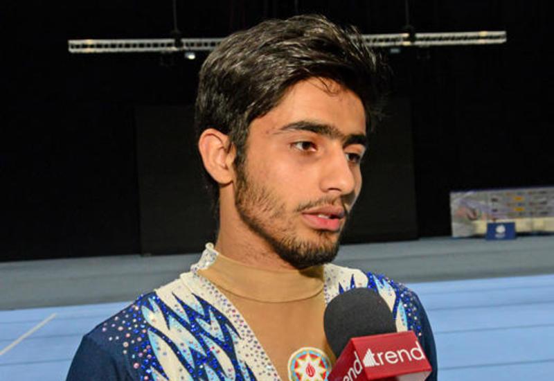 Азербайджанский гимнаст о Кубке мира в Баку: Надеюсь, что мы точно взойдем на пьедестал