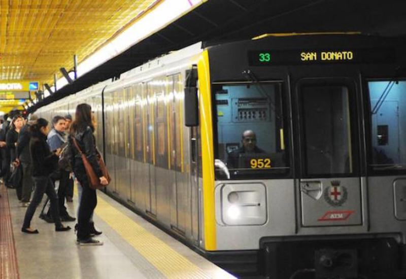 """В Милане травмированы 13 человек из-за резкой остановки поезда метро <span class=""""color_red"""">- ВИДЕО</span>"""