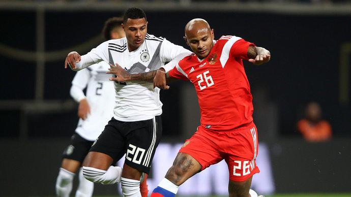 Германия громит Россию 3:0 в товарищеском матче 15.11.2018