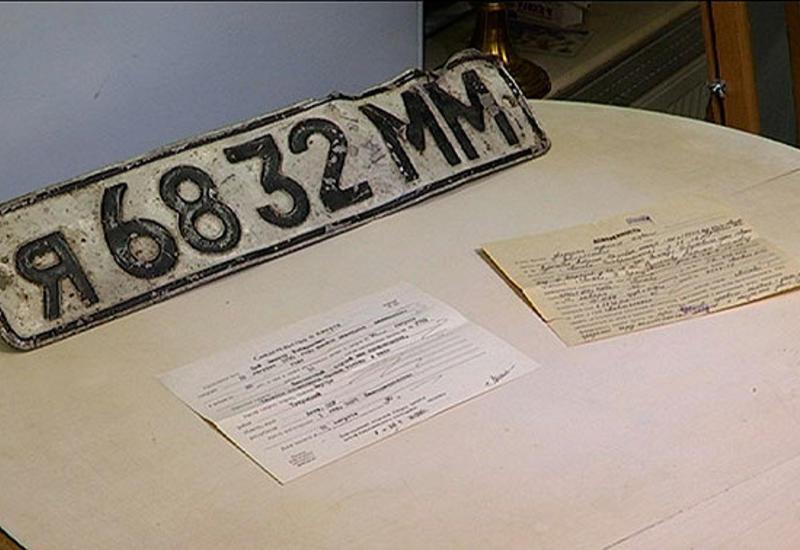 На аукционе продали номер машины, на которой разбился Цой