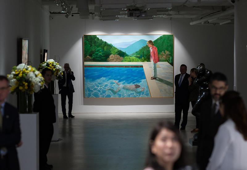 "В США картину Дэвида Хокни ""Портрет художника"" купили за $90,3 млн"
