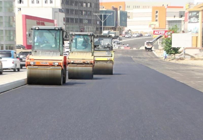 """Стало известно, когда завершится ремонт на проспекте Бабека <span class=""""color_red"""">- ПОДРОБНОСТИ</span>"""