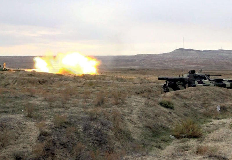 """Азербайджанская армия провела боевые стрельбы в Нахчыване <span class=""""color_red"""">- ФОТО</span>"""