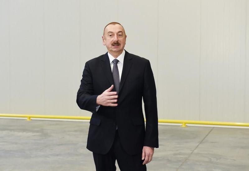 Президент Ильхам Алиев: 25-е место Азербайджана в отчете Doing Business - логический результат проводимых реформ