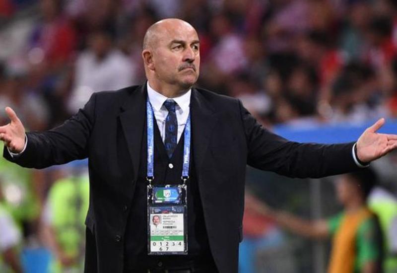 Черчесов установил рекорд сборной России по поражениям среди тренеров
