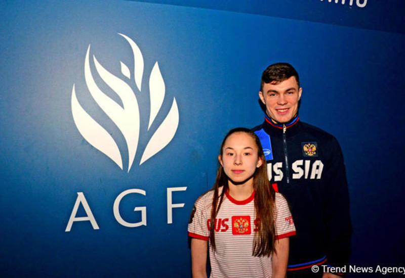 Российские гимнасты: Первый раз выступаем в Национальной арене гимнастики в Баку - эмоции переполняют