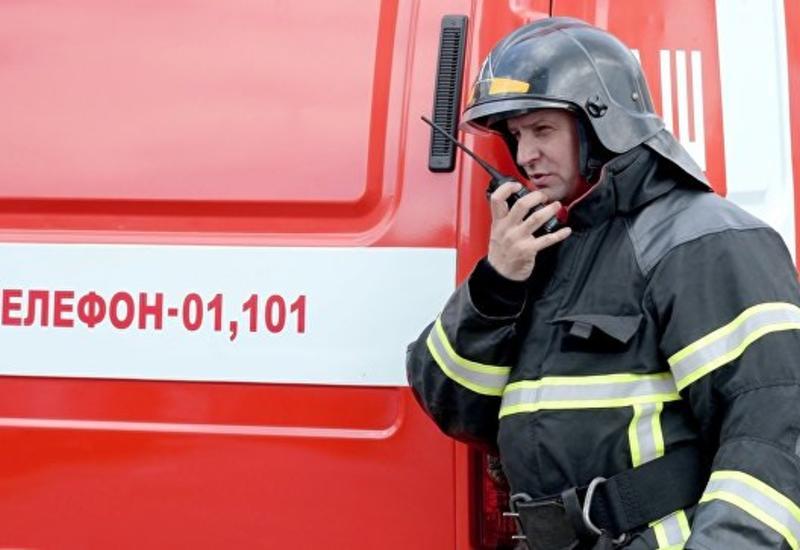 В Москве произошел второй за день крупный пожар
